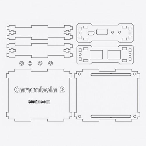 Carambola2-DVK with enclosure